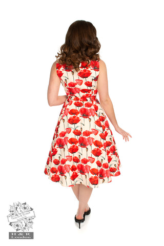 Sweet Poppy Swing Dress by Hearts & Roses