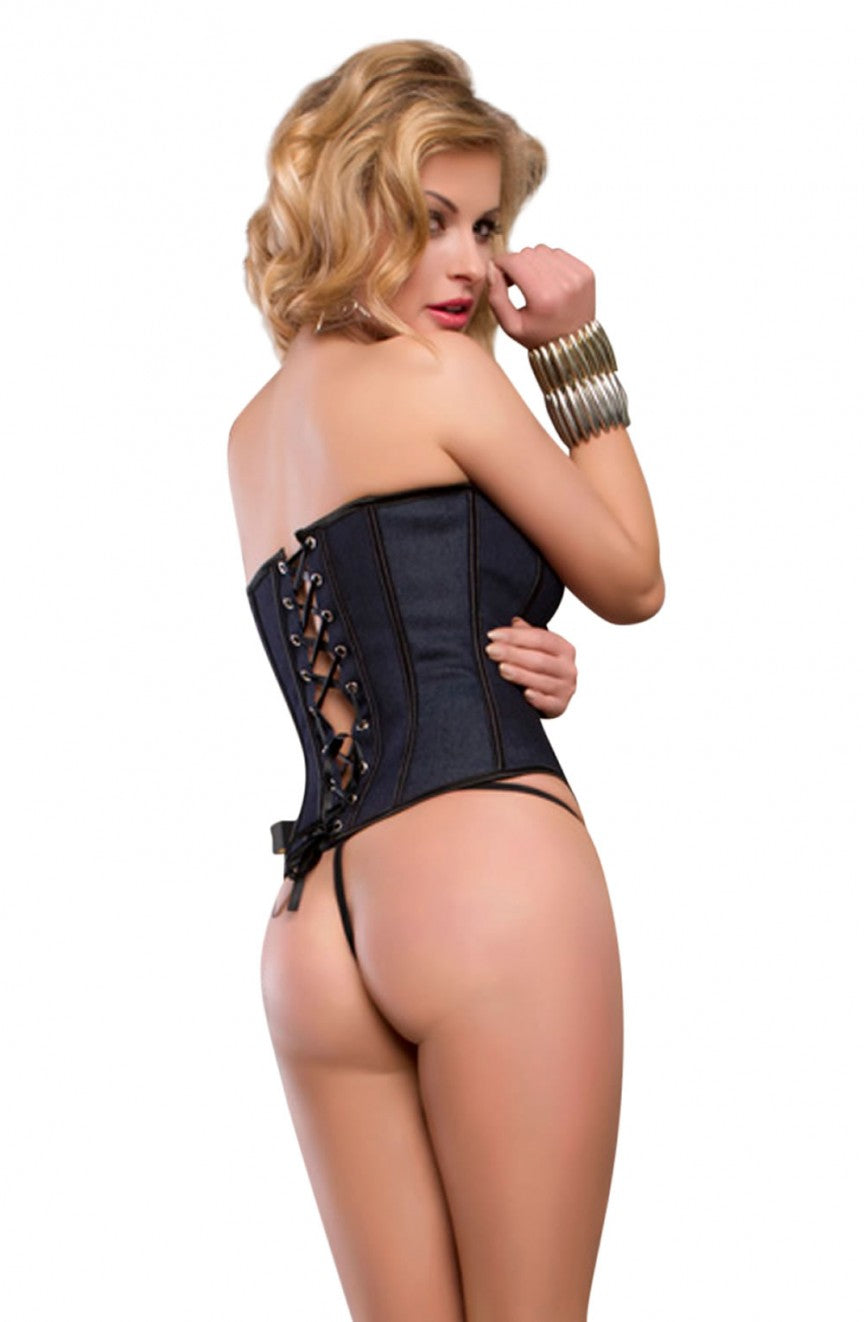 YesX Collection  Corset Set ( also available in Plus size)