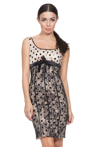 Tori lace pencil dress by Voodoo Vixen