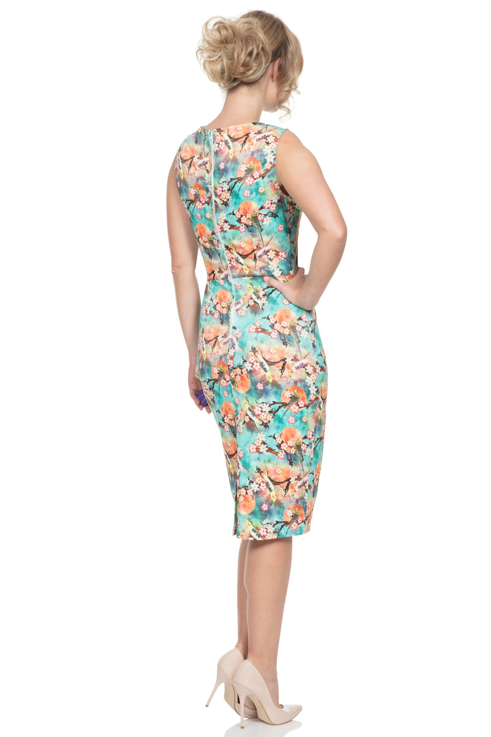 Jessa pencil summer dress by Voodoo Vixen