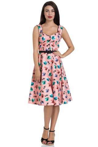 Kitty 50's flared dress by Voodoo Vixen
