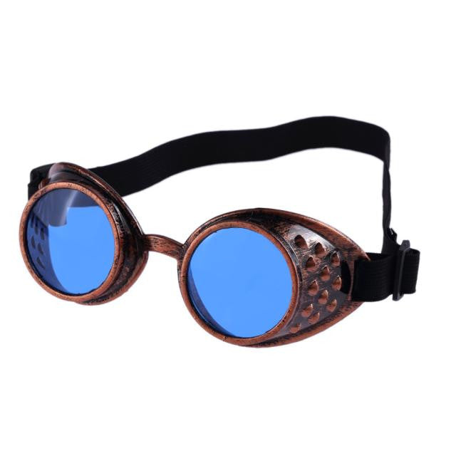 Vintage Style Steampunk Goggles Welding Glasses