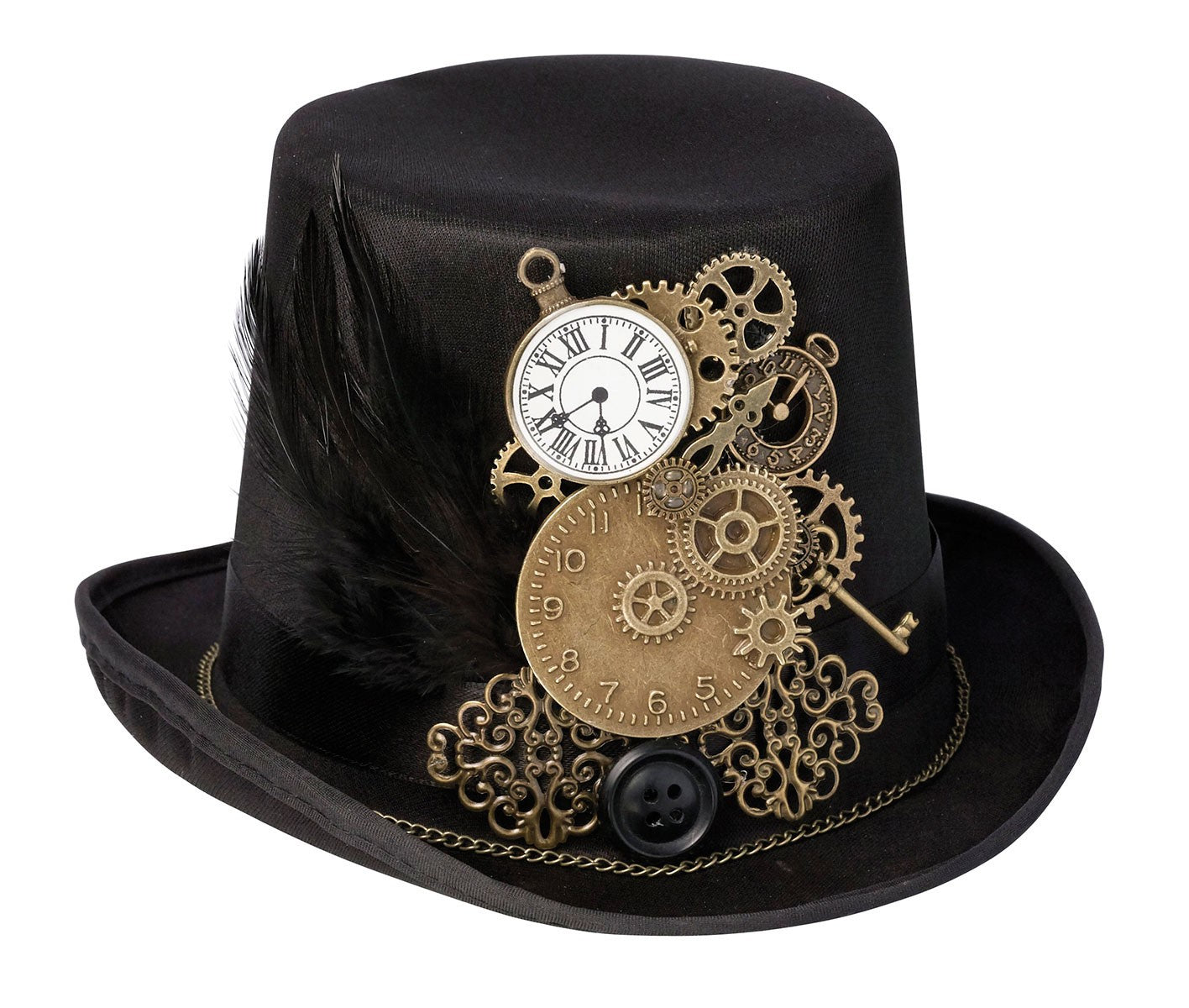 Wedding Ring Pillow Steampunk Top Hat by Lillian Rose