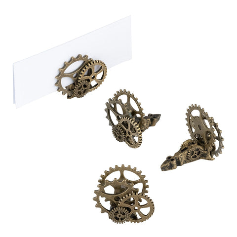 4 Steampunk Place Card Holders by Lillian Rose