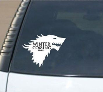 Game of Thrones Inspired Car/Laptop Sticker Decal