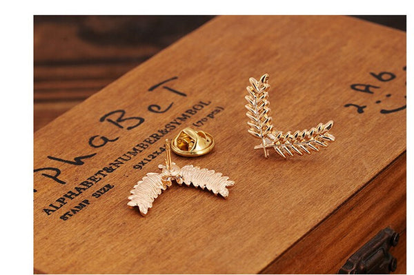 Classy Twin Wings Formal Shirt Pins