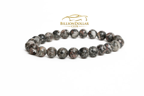 Moon Inspired Natural Stone Mens Bracelet