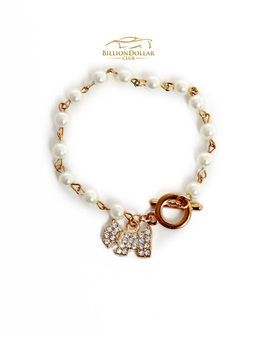 Ladies Classic Pet Dog Bracelet with Charms