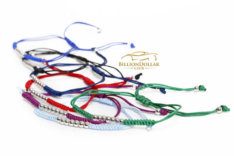 Macrame Bead Bracelet - Excellent Colours