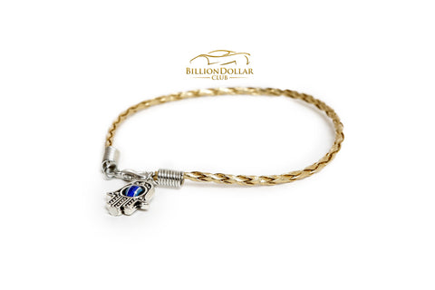 All time classy Hamsa Hand with Eye Bracelet