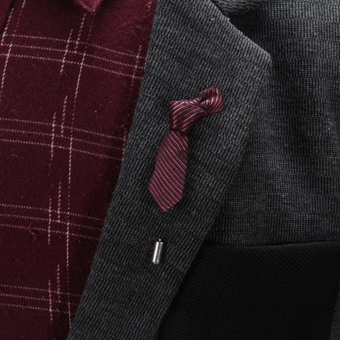 Trend Setter Tie Styled Suit Pin