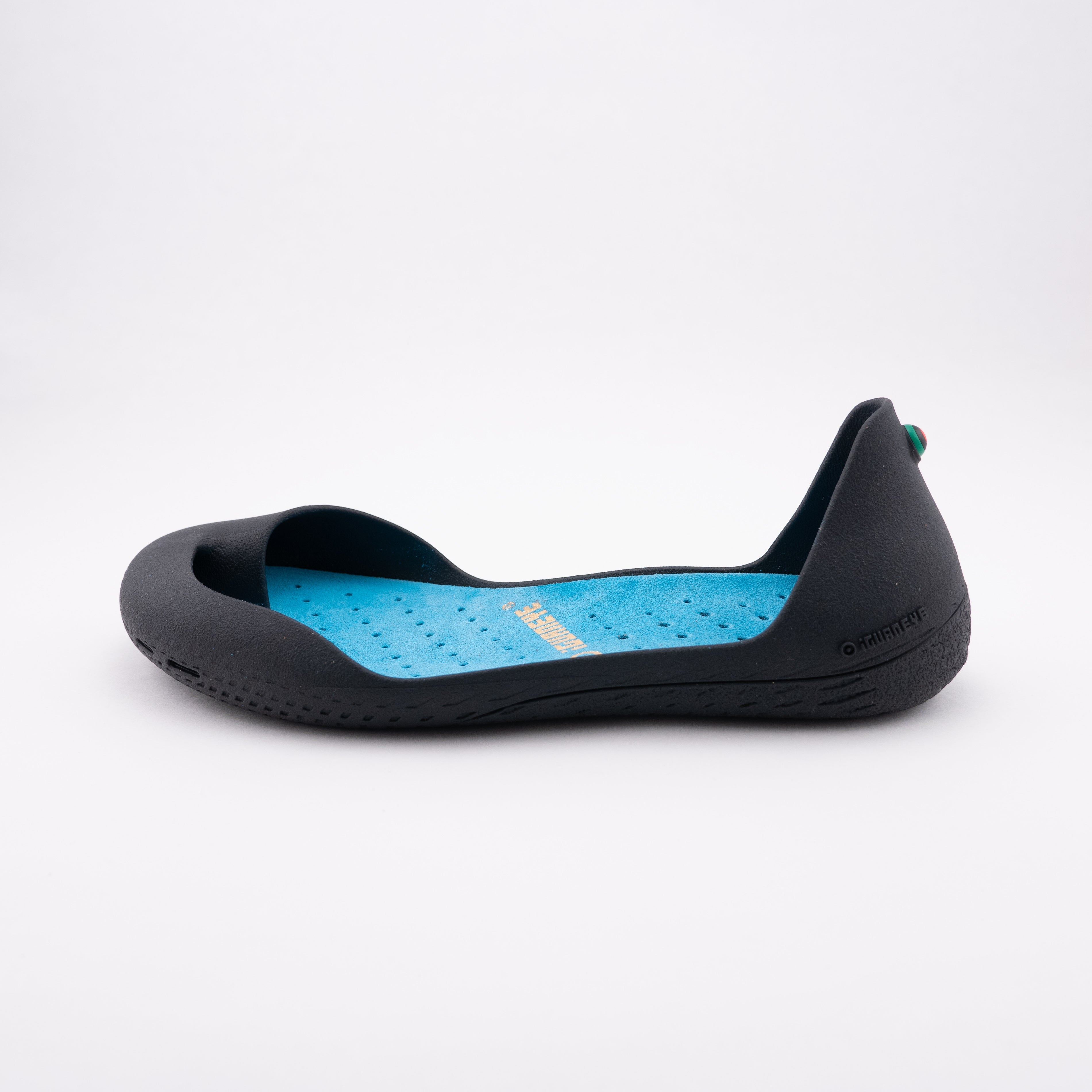 Charcoal Grey plus Turquoise Blue Innensohle