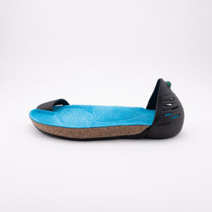 JUNGLE Lux - Black and Turquoise Blue
