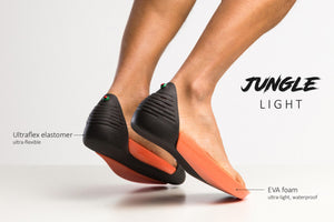 JUNGLE Light - Black and Light Blue