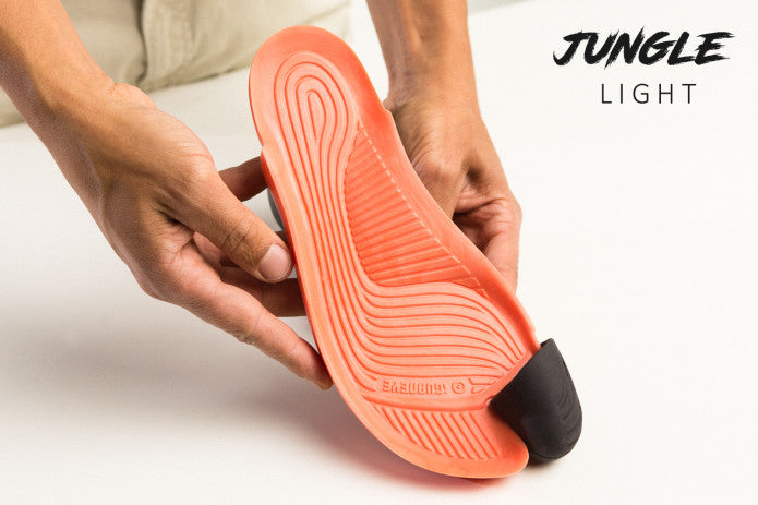 JUNGLE Light - Black and Light Orange