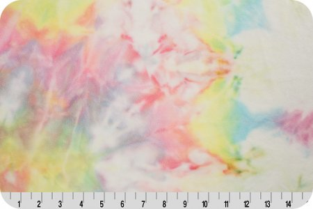 Pastel Tie Dye Ultimate Minky Pillowcase