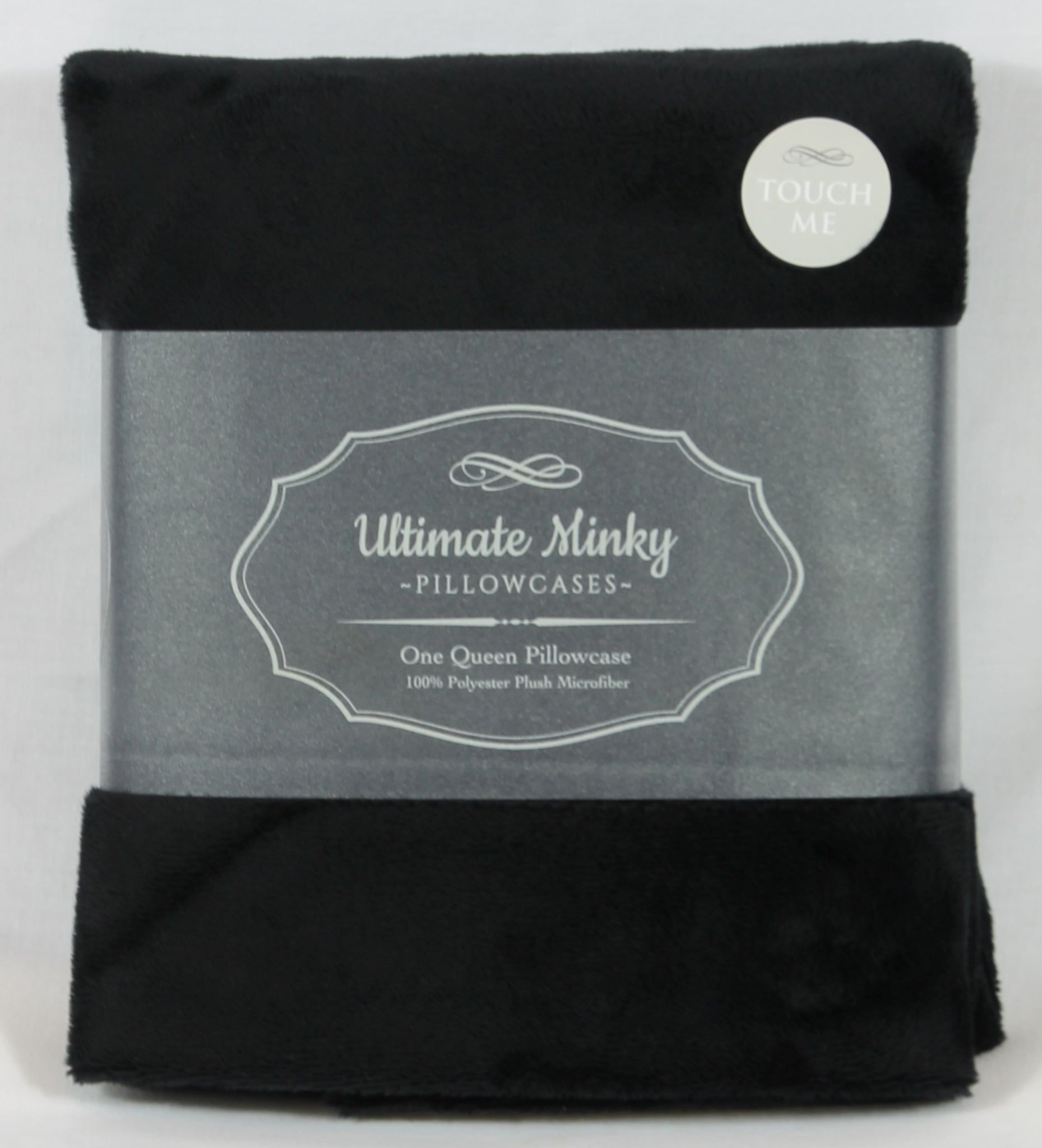 Black Ultimate Minky Pillowcase