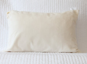 Ivory Travel Pillowcase