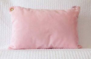 Pink Travel Pillowcase