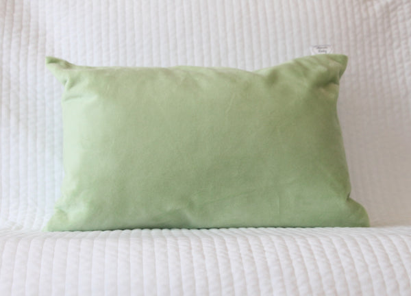 Sage Green Travel Pillowcase