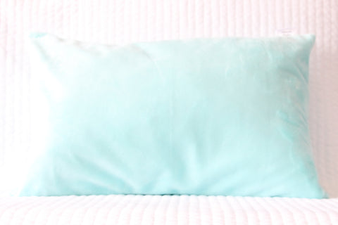 Aqua Travel Pillowcase
