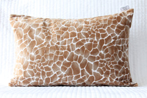 Giraffe Travel Pillowcase