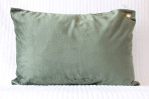 Hunter Green Travel Pillowcase