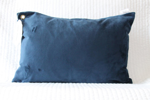 Navy Travel Pillowcase