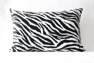 Zebra Travel Pillowcase