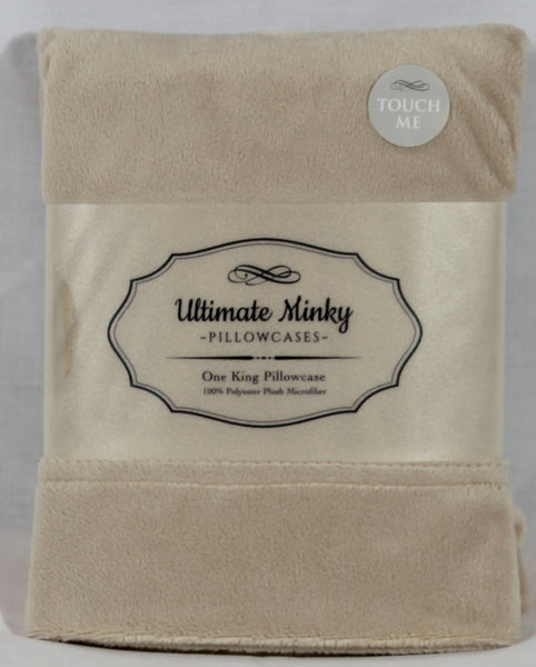 Tan Ultimate Minky Pillowcase