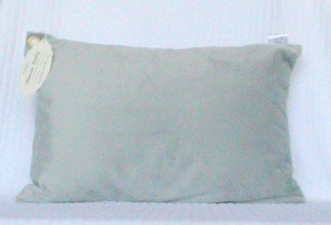 Gray Travel Pillowcase