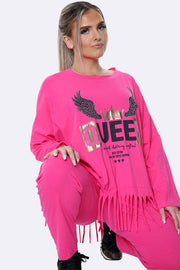 Italian Angel Queen Loungewear
