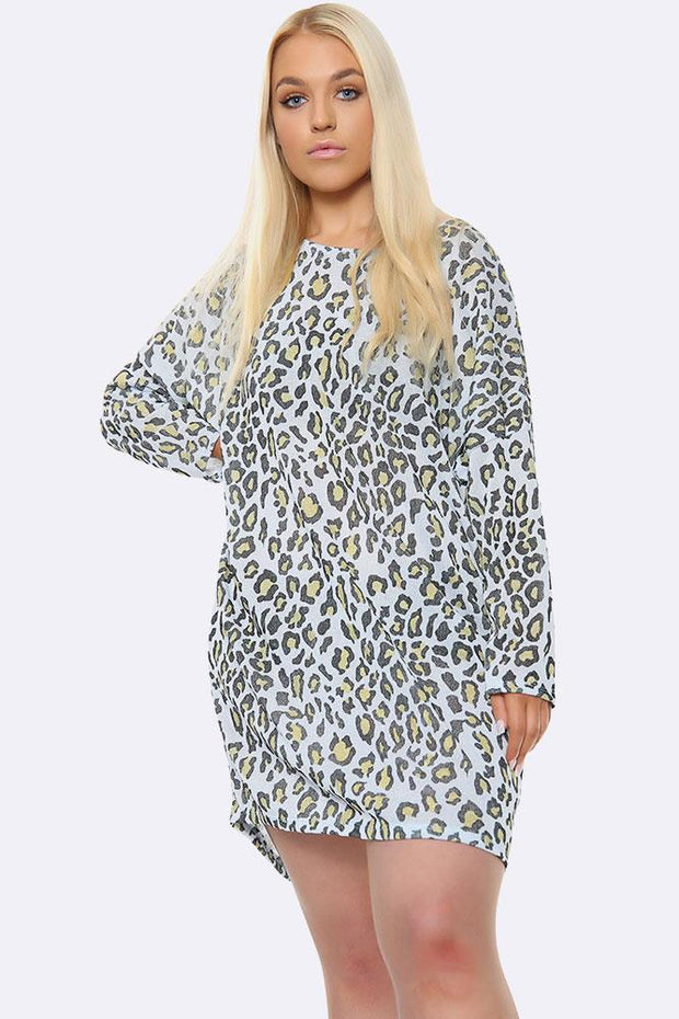 Italian Cheetah Print Top