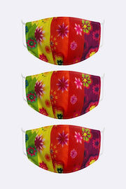 Kids 2 Ply Digital Print Cotton Face Mask_grwo