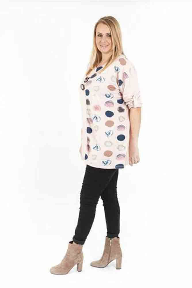 Lexi Cotton Polka Dot Print Top - Love My Fashions - Womens Fashions UK