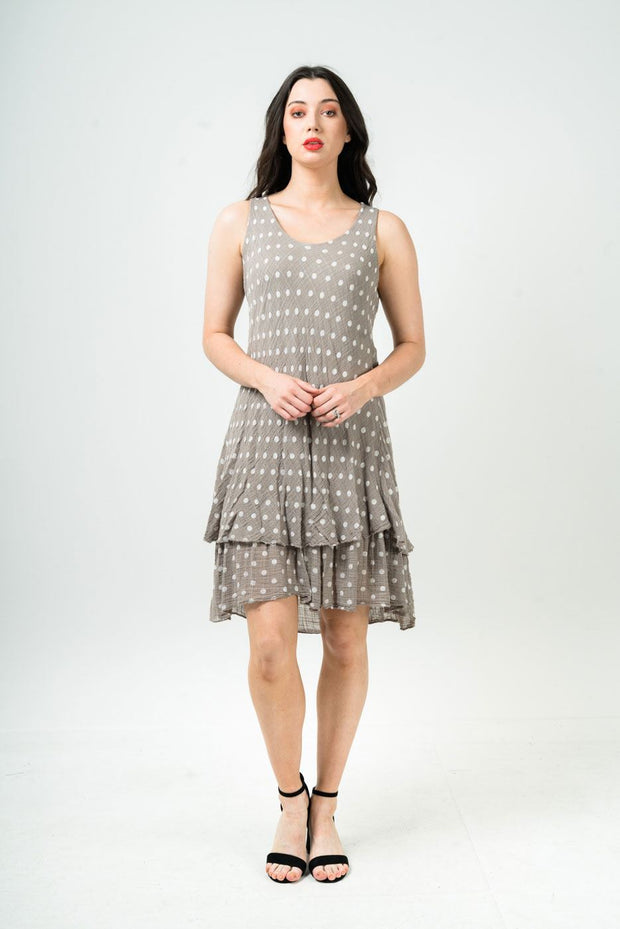 Annabelle Polka Dot Print Dress - Love My Fashions - Womens Fashions UK