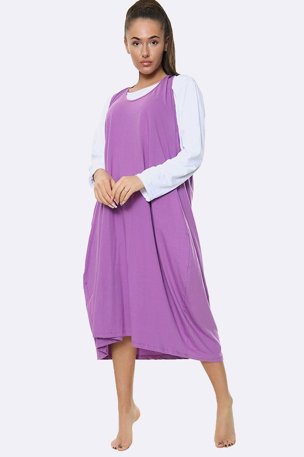 Italian 2 in 1 Plain Dress
