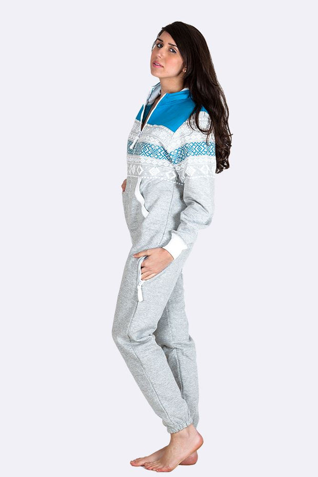 Sophie Unisex Chin Guard Aztec Jumpsuit - Love My Fashions - Womens Fashions UK