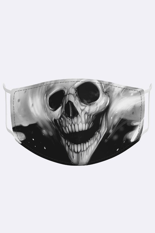 Unisex Ghost Rider Digital Print Mask