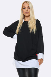 Mock Jumper Shirt Top