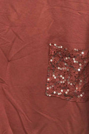 Italian Sequin Pattern Top