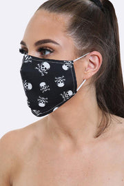 Fashion Mask in Skull Print