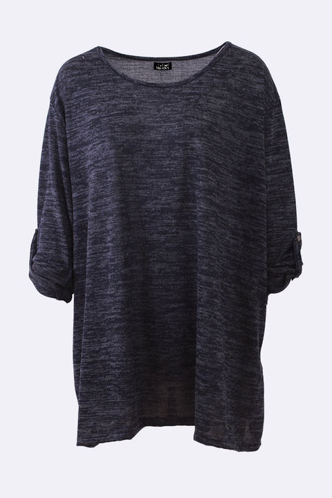 Lauryn Textured Button Up Sleeve Top