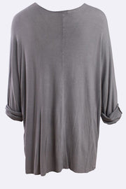 Lola Italian Success Chart Ribbed Tunic Top
