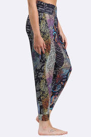 Paisley Abstract Print Alibaba Hareem Trouser