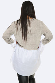 Italian Mock Jumper Top