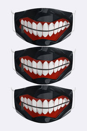 Tokyo Ghoul Digital Print Cotton Face Mask