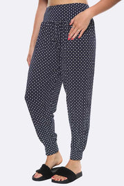 Floral Dots Alibaba Hareem Trouser