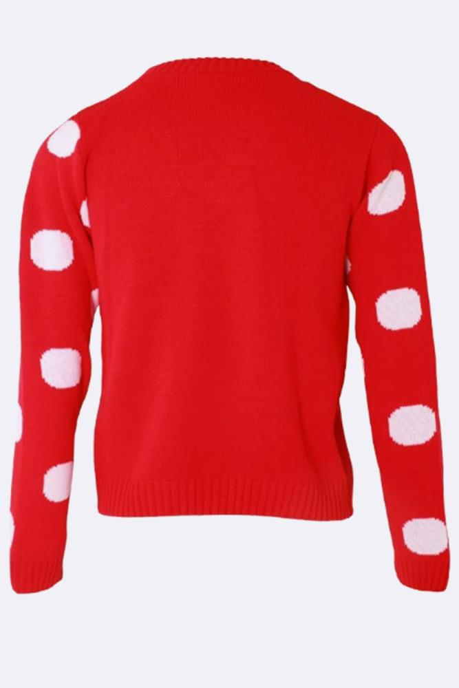 Kids Mr Cool Knitted Christmas Jumper - Love My Fashions - Womens Fashions UK