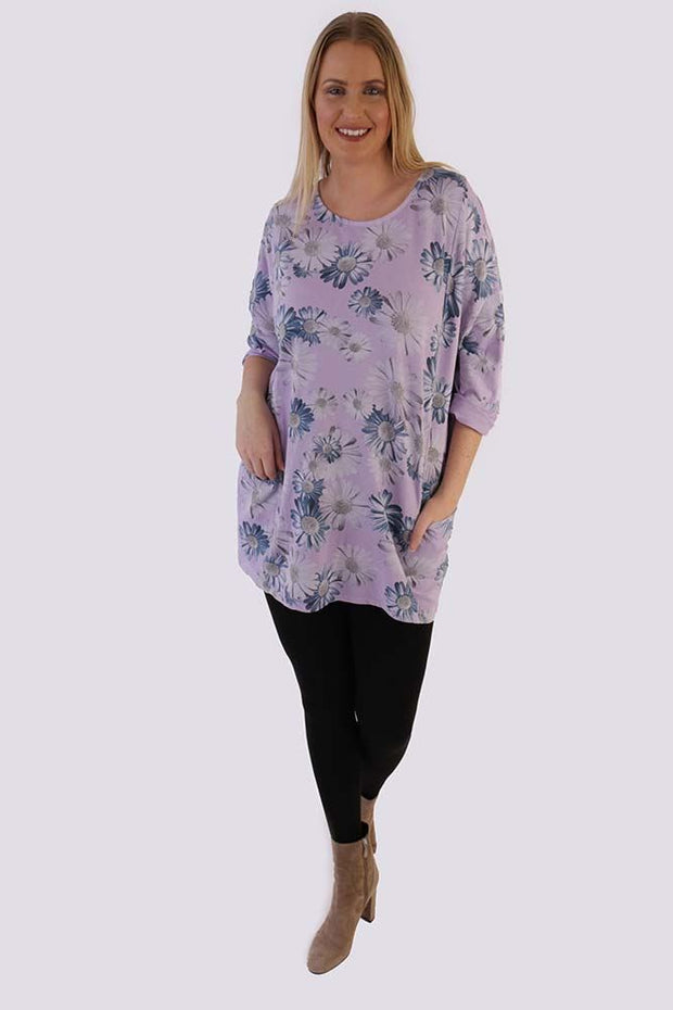 Alessandra Cotton Sunflower Top - Love My Fashions - Womens Fashions UK